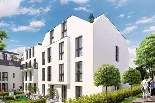 Provisionsfrei: 2 Zimmer mit Balkon - Parklogen Grillparzerstraße