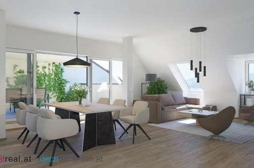 Provisionsfreies Penthouse mit über 70m2 Terrassen