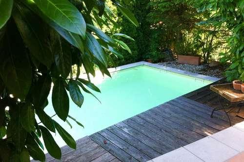 Modernes Wohnhaus mit Pool in herrlicher Grünruhelage!