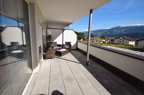 Sonnige 2-Zimmer-Wohnung mit großer Terrasse in Thaur