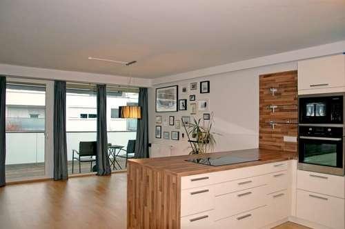 Neuwertige 3-Zimmerwohnung mit sonnengetränkter Terrasse