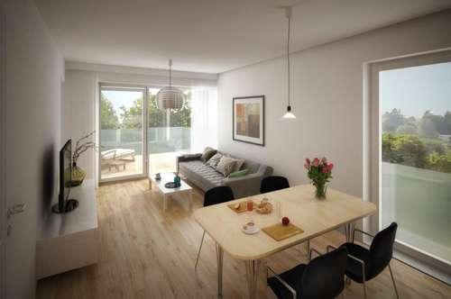 ERSTBEZUG - ca. 57m², 2-Zimmer mit Terrasse