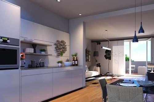 ANLEGERHIT - 52,12m² - ERSTBEZUG - 2 Zimmer mit großer Terrasse und Garten