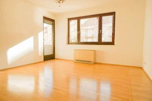 Sonnige 2-Zimmer-Wohnung mit Balkon in ruhiger Lage