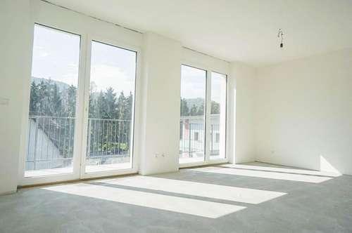 EINZIEHEN & WOHLFÜHLEN - 2 Zimmer-Wohnung mit großem Balkon - ERSTBEZUG