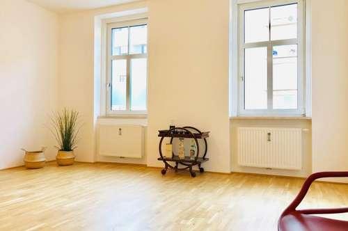 ERSTBEZUG nach Sanierung - 3 Zimmerwohnung mit Balkon in Bahnhofsnähe