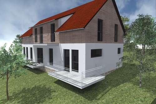 Penthouse-Wohnung mit Terrasse und Blick ins Grüne