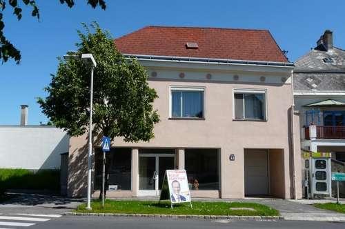 Wohn- und Geschäftshaus im Zentrum von Lackenbach !!