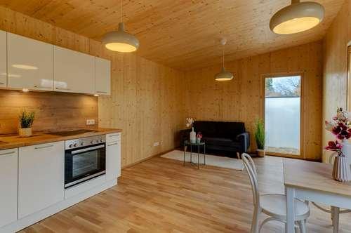Vorsorgen mit Kleinfamilienhaus in ruhiger Grünlage – 48 m²