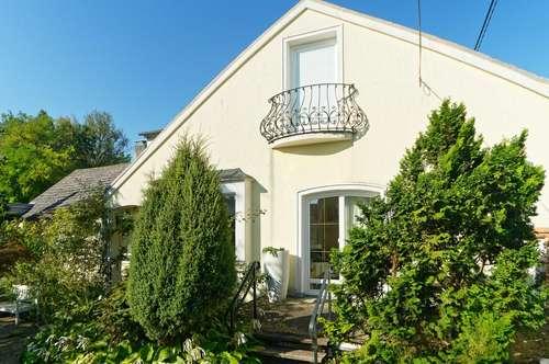 Einfamilienhaus mit außergewöhnlichem Garten in Schleinbach