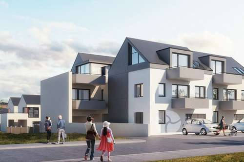 Neue Eigentumswohnungen mit Weinviertelblick in Obersdorf – Top 4/H