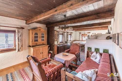 Bauernhaus in Alleinlage am Sonnenbalkon über dem Salzachtal!
