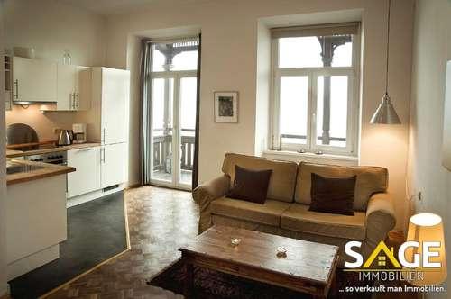 2- Zimmer Ferienwohnung in renovierten Belle Epoque Haus