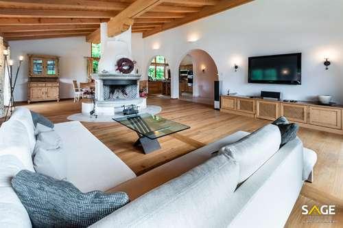 Landhaus-Luxus am Waldrand mit herrlicher Aussicht.