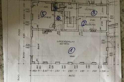 Die Immoprofis.at 100 m2 Lager mit Büro und WC in Stadtlage