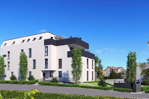 Kleines Neubauprojekt mit 10 Wohnungen im Wohnviertel Unter Weizbach/Andritz