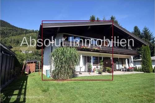 Haushälfte mit 2 Wohnungen, teilweise touristische Vermietung in wunderschöner Lage von Zell am See!