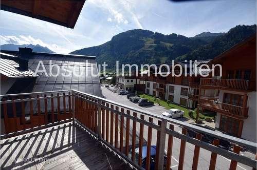 Schöne 3-Zimmer-Wohnung (54m²) mit sonnigem Balkon in Rauris, nahe am Skilift, Wellness und Pool.