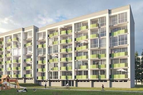 tolle Mietwohnung mit ca. 54,67 m² im Wohnpark Fohnsdorf