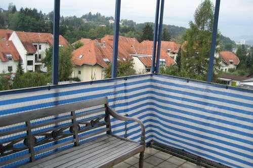 schöne 3-Zimmerwohnung mit Terrasse und Aussicht in LKH nähe