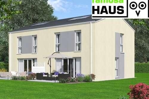 Ziegel-Massiv Doppelhaushälfte, 101m² Wohnfläche plus Keller mit Gartenoase und 2 Parkplätzen (Eigengrund). Provisionsfrei!