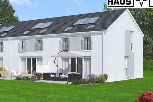 Niedrigenergie-Eckreihenhaus, 101m² Wohnfläche, 54m² Keller und Sonnengarten samt Parkplatz. Provisionsfrei!