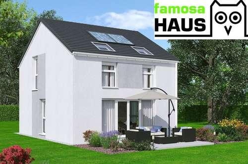 Ziegelmassives Einfamilienhaus mit Traumgarten (Eigengrund) und 2 PKW-Abstellplätzen. Alleineigentum!