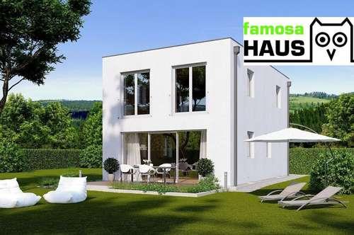 Niedrigenergie - Einfamilienhaus mit Sonnengarten (Eigengrund) und 2 PKW-Abstellplätze. Provisionsfrei!