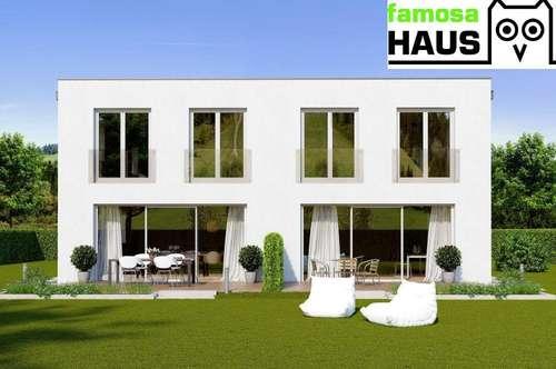 Ziegelmassive Doppelhaushälfte, vollunterkellert mit Gartenoase (Eigengrund) und PKW-Abstellplatz. Provisionsfrei!