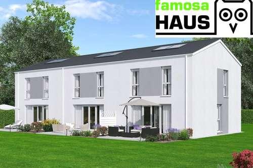 Bestpreis: vollunterkellertes Reihenhaus mit Terrasse, Eigengarten und Parkplatz. TÜV-Austria baubegleitet!