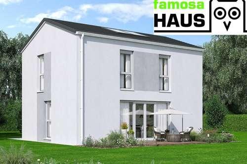 Neu: Niedrigenergie - Einzelhaus mit Vollunterkellerung und Gartenoase samt 2 Parkplätzen. Provisionsfrei!