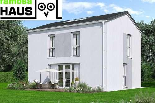 Ziegelmassives Einfamilienhaus, vollunterkellert mit Terrasse, Sonnengarten und 2 Parkplätzen. Provisionsfrei!
