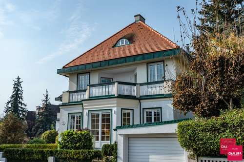 Prachtvolle Villa mit Garten in Hietzinger Traumlage | Magnificent villa with backyard in marvelous location