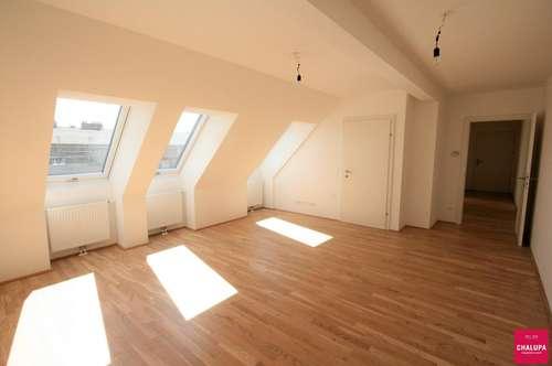 Großzügiges Dachgeschoss in Strebersdorfer Ruhelage