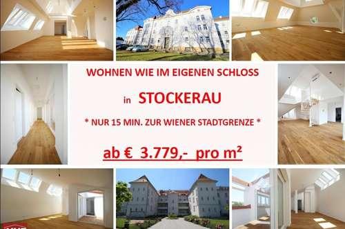 * STOCKERAU * ab € 3.779,- pro m² * NUR 15 MIN. ZUR WIENER STADTGRENZE *