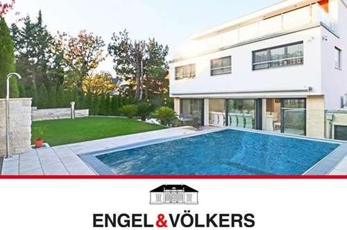 Neue High-End-Villa am Lainzer Tiergarten