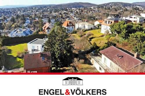 Rarität in Toplage: S/W-Grundstück mit Wienblick