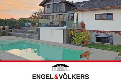 Traumhafte Liegenschaft mit Neusiedlersee-Blick