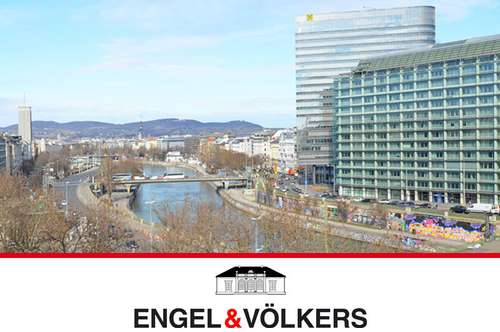 Top-Lage: City-Apartment mit Donaukanalblick