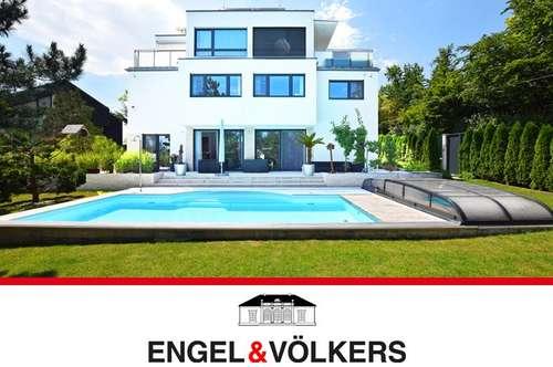 Moderne Luxusresidenz, ca. 532 qm, Hermesvilla-Blick