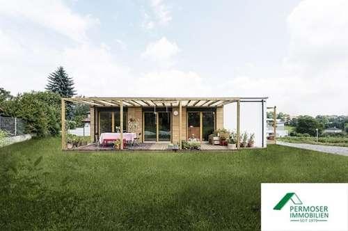 NEUBAU - modernes Ferienhaus in Modulbauweise auf Pachtgründen zu verkaufen