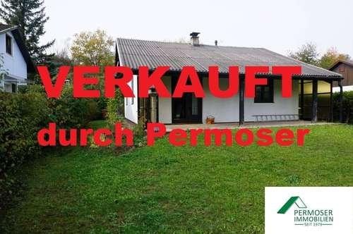 nettes, kleines Ferienhaus mit Gaszentralheizung, auf Pachtgrund