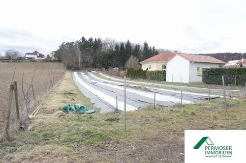 großes Grundstück mit 2.022 m²