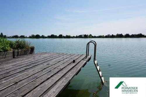 Uferparzelle - idyllisches Seehaus auf Pachtgrund