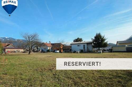 Grundstück in Götzis mit Bauwidmung