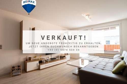Tolle 2 Zimmer Wohnung in Lauterach mit grosser Terrasse