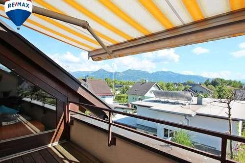 Geschmackvoll sanierte Dachgeschosswohnung mit exklusiver Ausstattung auf zwei Etagen in Lustenau