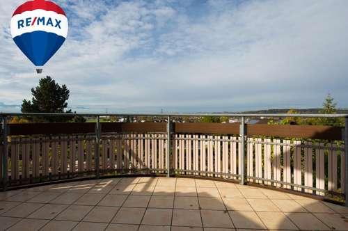Terrassenwohnung mit fantastischer Seesicht zu vermieten!