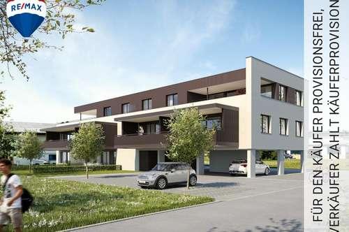 NEUBAU: 3 Zimmer - Dachterrassenwohnung mit über 40 m² grosser Dachterrasse zu verkaufen