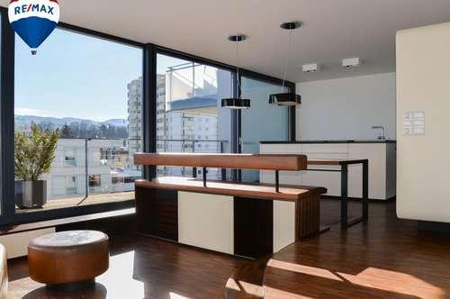 Elegante 4 Zimmer Maisonette Wohnung in Bregenz mit Blick zum See